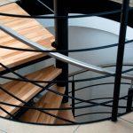 Diseño y fabricación de escaleras metálicas de caracol o helicoidal en Vizcaya